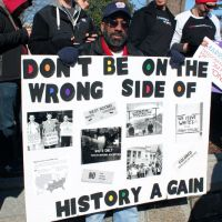 Being on the wrong side of history