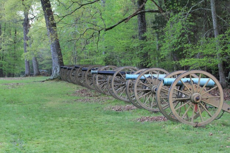 Ruggles'_Battery_at_Shiloh_National_Military_Park